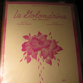 Another un-opened bag with old,original sheet music - Music