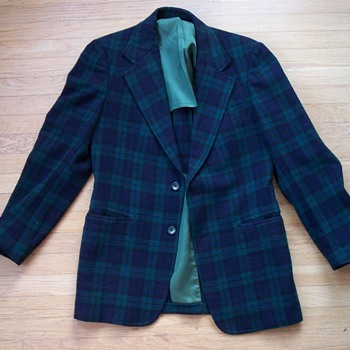 Pendleton Plaid Men's Blazer - Mens Clothing