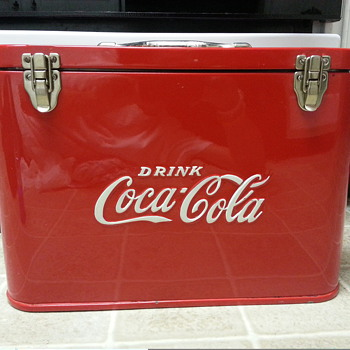 Airline cooler - Coca-Cola