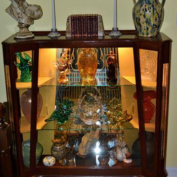 $25.00 display cabinet