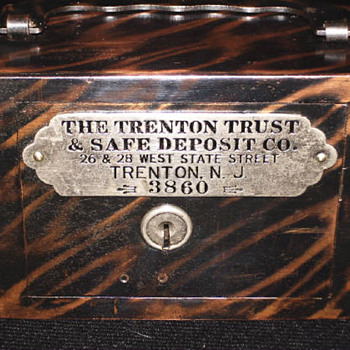"Trenton Trust & Safe Deposit""New Jersey"" - Coin Operated"