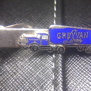 GreyVan Lines Tie Clip