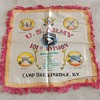 101st Division pillow cover from Camp Breckinridge c. 1948