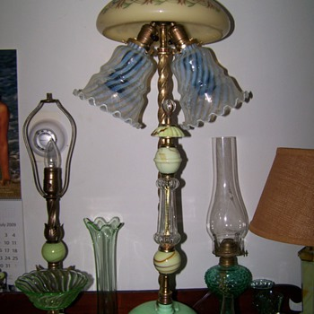 Can you say eclectic?? Hedgewalker can !! - Lamps