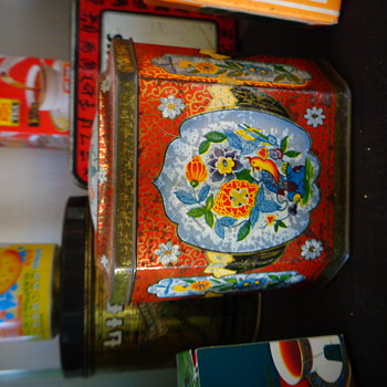 Té Ybarra Tea Tin