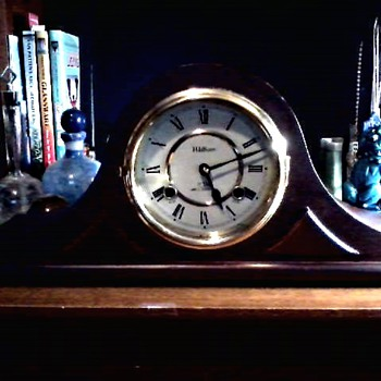 Waltham 31 Day Mantel Clock/Korean Made/Circa 20th Century