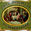 O&#039;Keefe Brewery Cos - c. 1895 curved tin sign