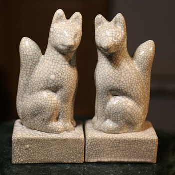 A Pair of Crackled Foxes - Books