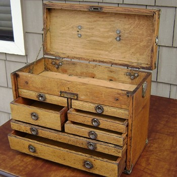 Union Tool Chest Works, Style B - Tools and Hardware