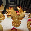 Vintage Swedish Straw Christmas Ornaments