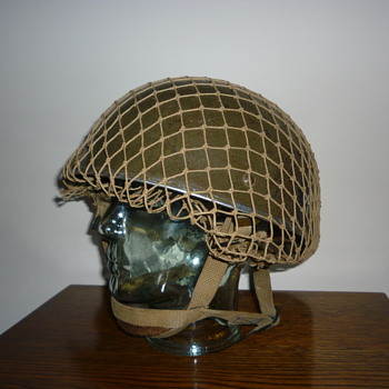 British WWII Paratrooper steel helmet 1943 - Military and Wartime