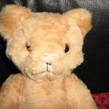 Vintage Teddy Bear - Dolls