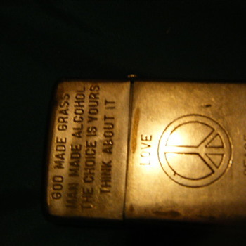 zippo giving to me