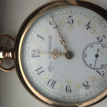 Elgin National Watch Co. ladies (?) pocket watch - Pocket Watches