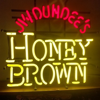 Honey Brown Neon - Signs