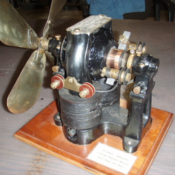 Crocker Wheeler Bipolar Motor w/fan blade