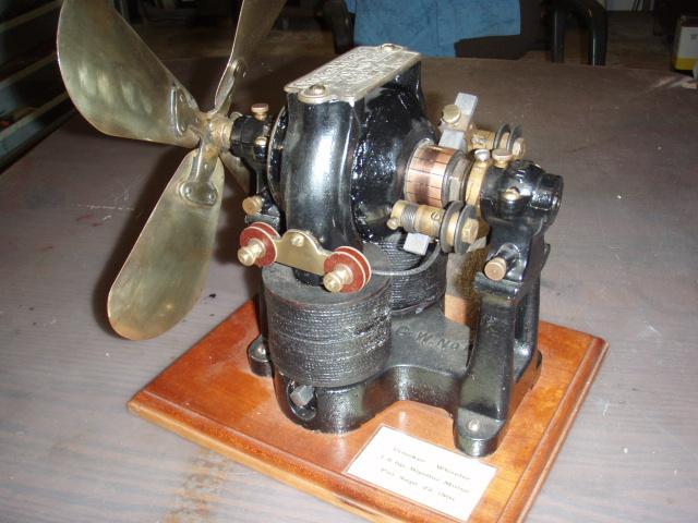 Crocker wheeler bipolar motor w fan blade collectors weekly for Crocker motors used cars