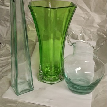 Green art glass kind of day - Art Glass