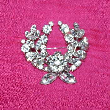 Vintage Sherman Brooches