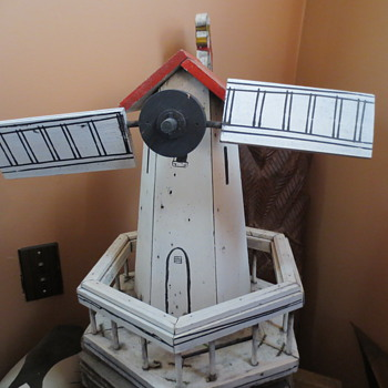 AN old windmill - Folk Art
