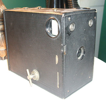 My 1909 Eastman Kodak Model B Premo Cartridge Camera.