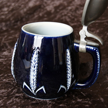 German stien mugs - Breweriana
