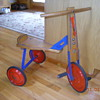 Steel with Wooden Seat Tricycle