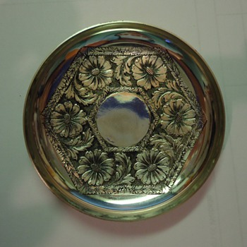 Small silver dish - need info please - Kitchen