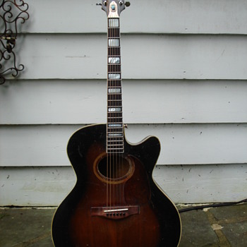 Chimes single cutaway acoustic guitar