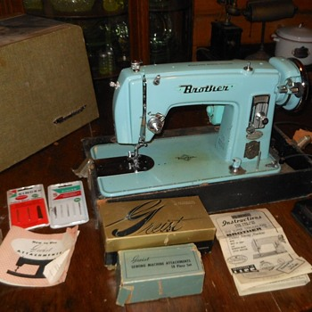 The Super Streamliner Brother Deluxe Sewing Machine