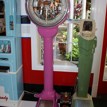 Watling  lollipop scale - Coin Operated