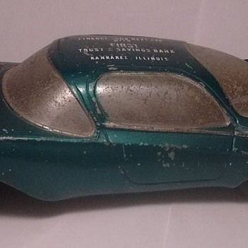 1950's Futuristic Banthrico Autobank Car !