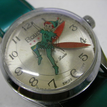 1972 Peter Pan Wristwatch