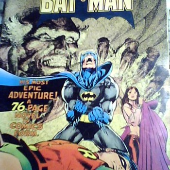 1977 LIMITED COLLECTOR´S BATMAN EDITION No C-51