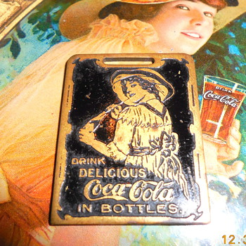 1912  Coca-Cola Watch Fob - Coca-Cola
