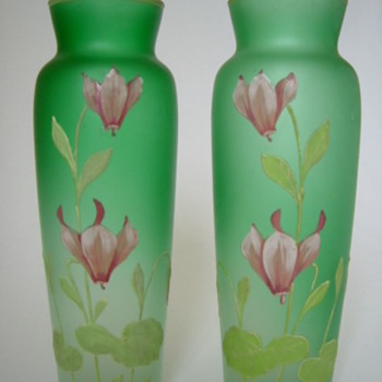 Goldberg Vases - Art Glass