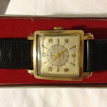 Rotary Swiss made 17 jewels vintage gold watch - Wristwatches