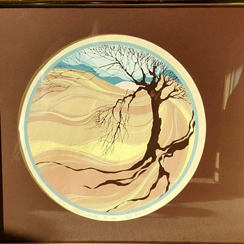 """Mother Earth"" Serigraph Print by William Allen"