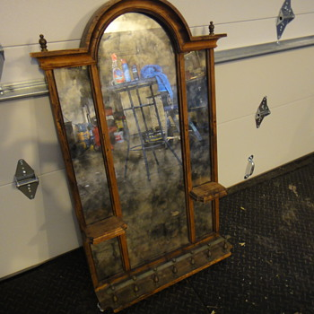 italian antique mirror?   - Furniture