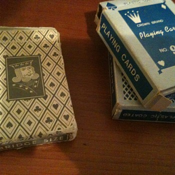Vintage Playing Cards (1960s)