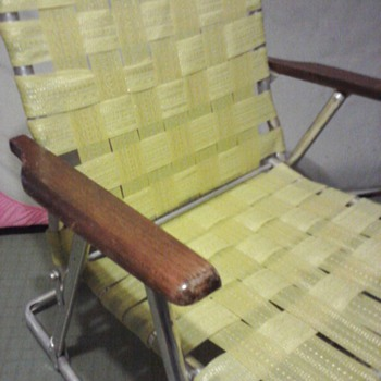 Retro Lawn Rocking Chair