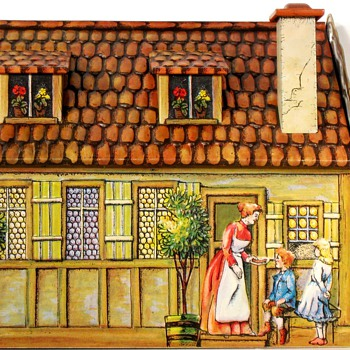 Heinrich Haeberlein Lebkuchen Haus - Biscuit Tin - Model Trains