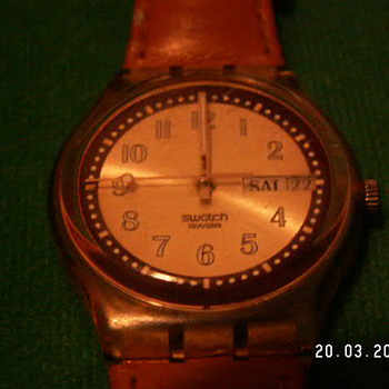 Vintage 80's Swatch Watch ~ Switzerland