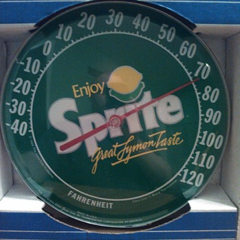 jumbo dial thermometer Sprite 1984