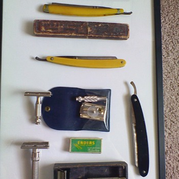 Antique Razors from the U.S.A., England, & Germany  - Accessories