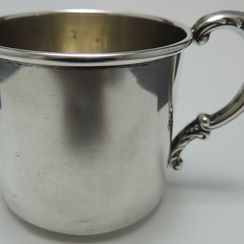 Sterling Tea Cup - WOLFENDEN SILVER CO.