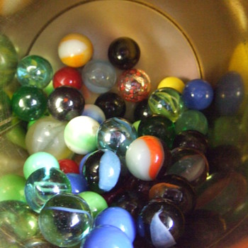 A few of  my marbles