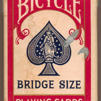 """Bicycle"" Bridge Size Playing Cards"