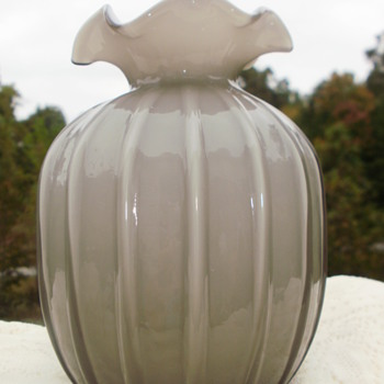 My Beautiful two-tone vase!! - Art Glass