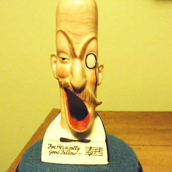 Amusing  novelty ashtray.    - Tobacciana